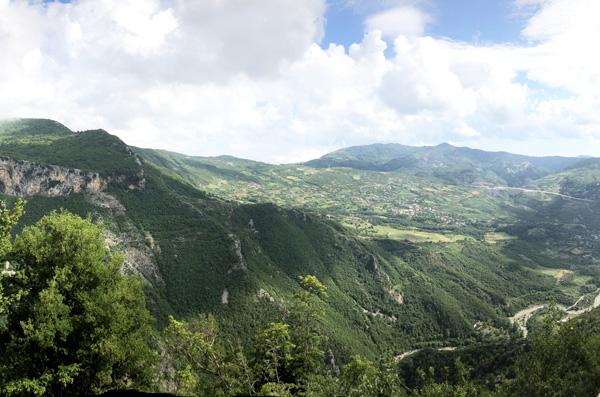 albania landscape